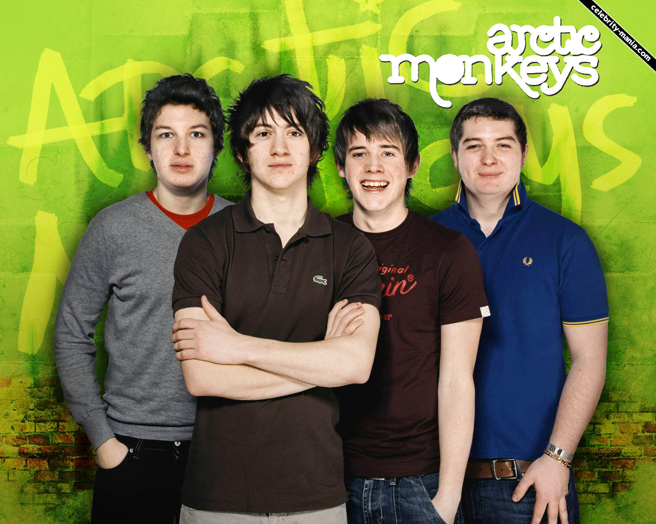 Arctic Monkeys - Wallpaper Image