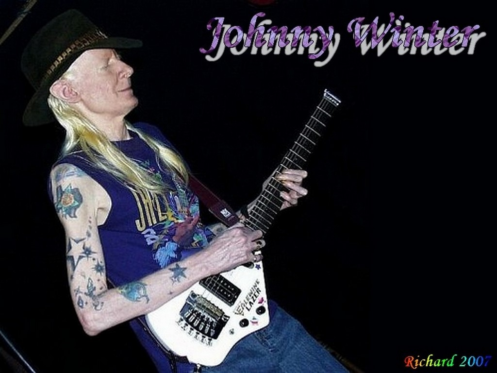 Johnny Winter - BANDSWALLPAPERS