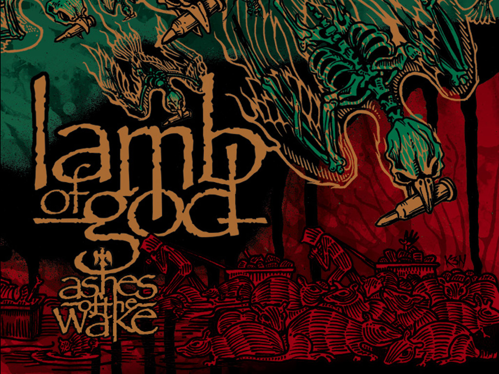 Lamb Of God Bandswallpapers Free Wallpapers Music