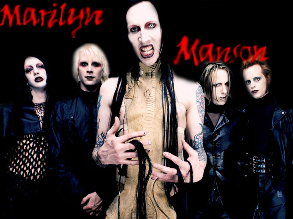 Marilyn Manson - BANDSWALLPAPERS | free wallpapers, music ...