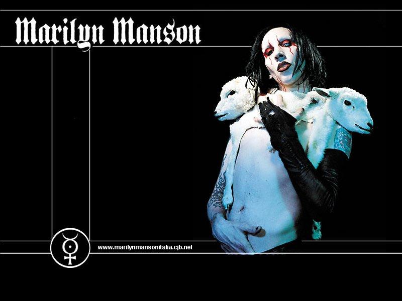 Marilyn Manson Wallpapers Just Wallpaper Blog