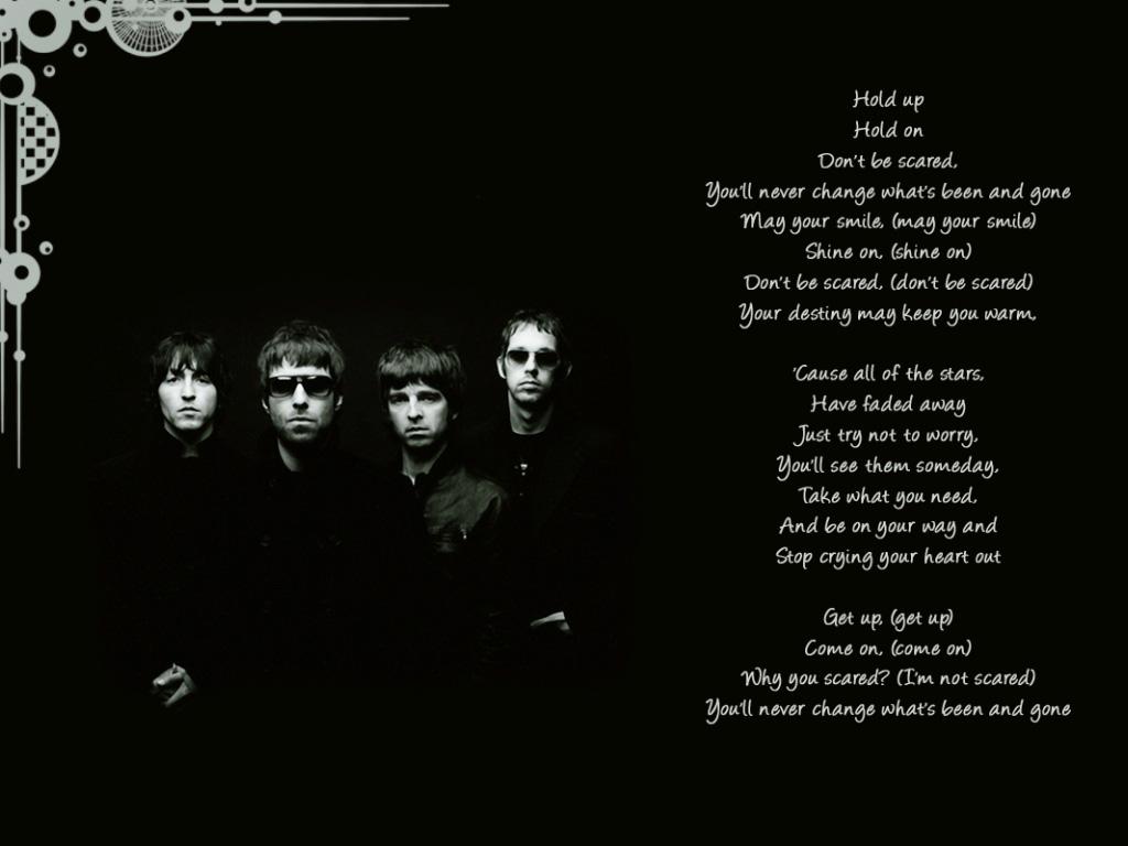oasis  lyrics