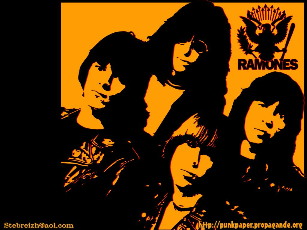 Ramones 10 - BANDSWALLPAPERS | free wallpapers, music ...