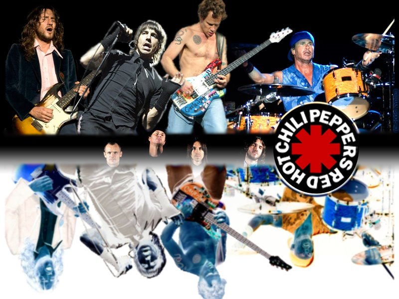 Red Hot Chili Peppers - Wallpaper Colection