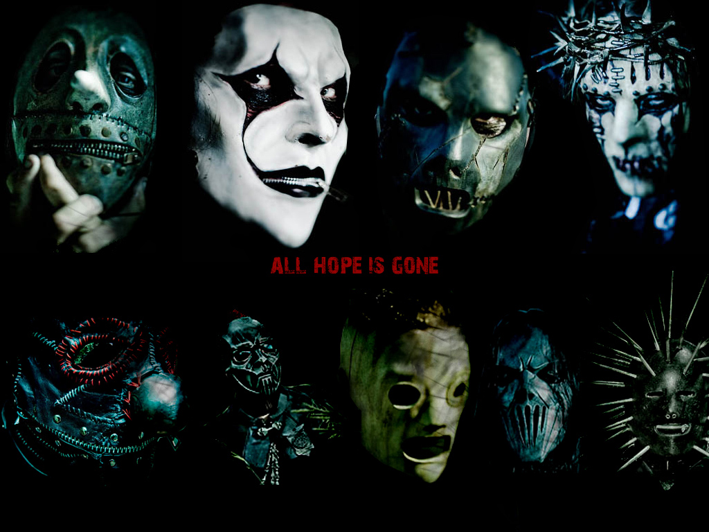 Slipknot's New Masks
