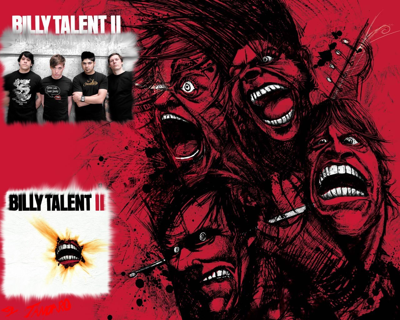 Billy Talent Bandswallpapers Free Wallpapers Music