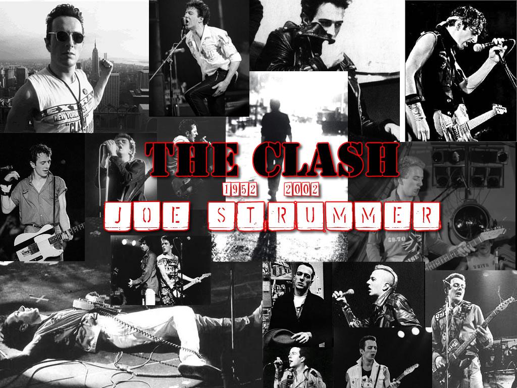 The Clash Rip Joe Strummer - BANDSWALLPAPERS | free ...
