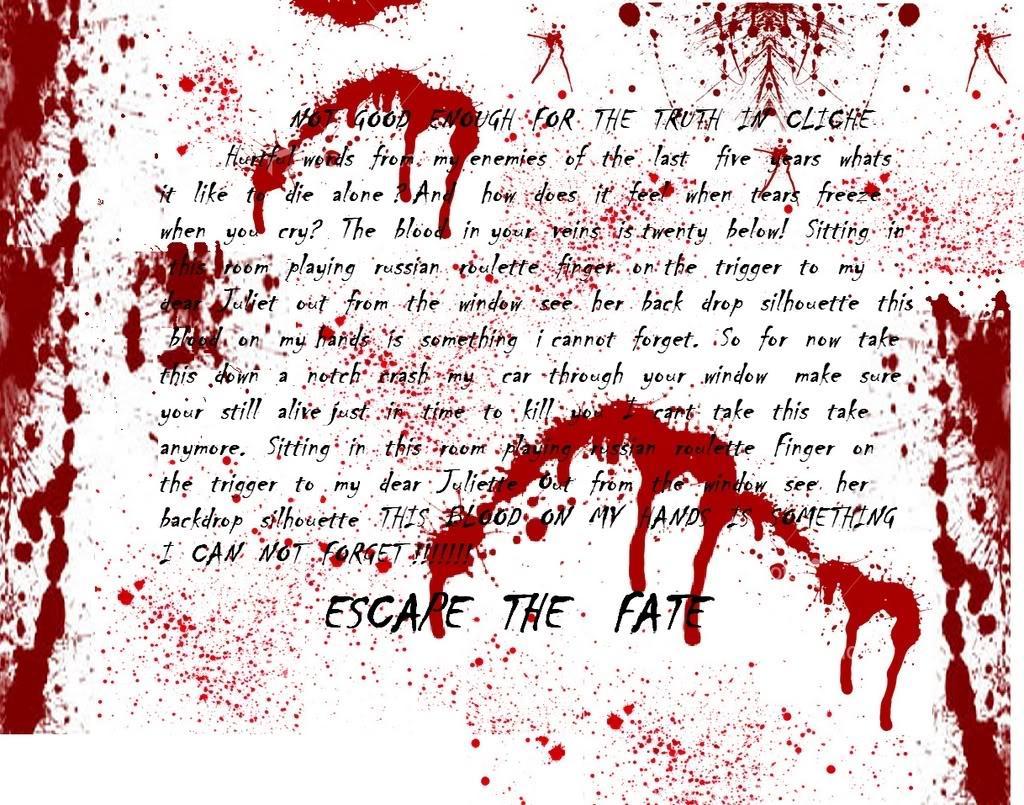 Escape the fate roulette