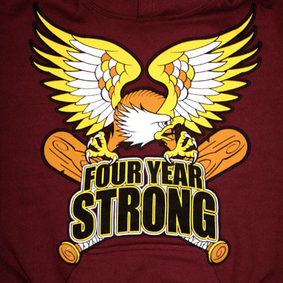 Four Year Strong Crest