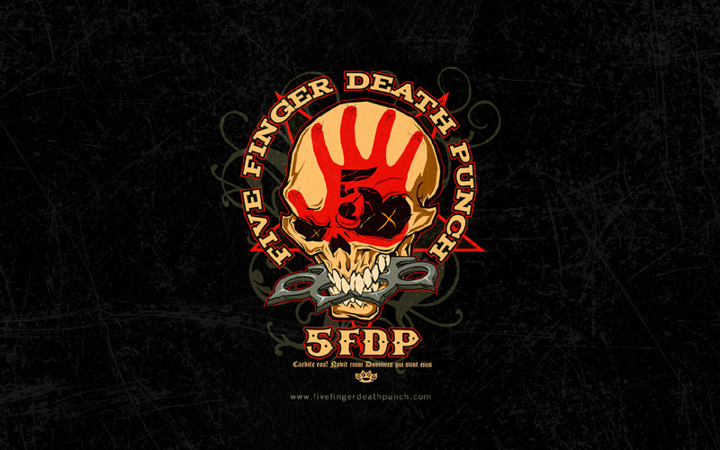 five finger death punch bandswallpapers free