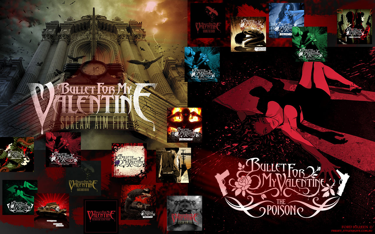 Bullet For My Valentine Bandswallpapers Free Wallpapers Music
