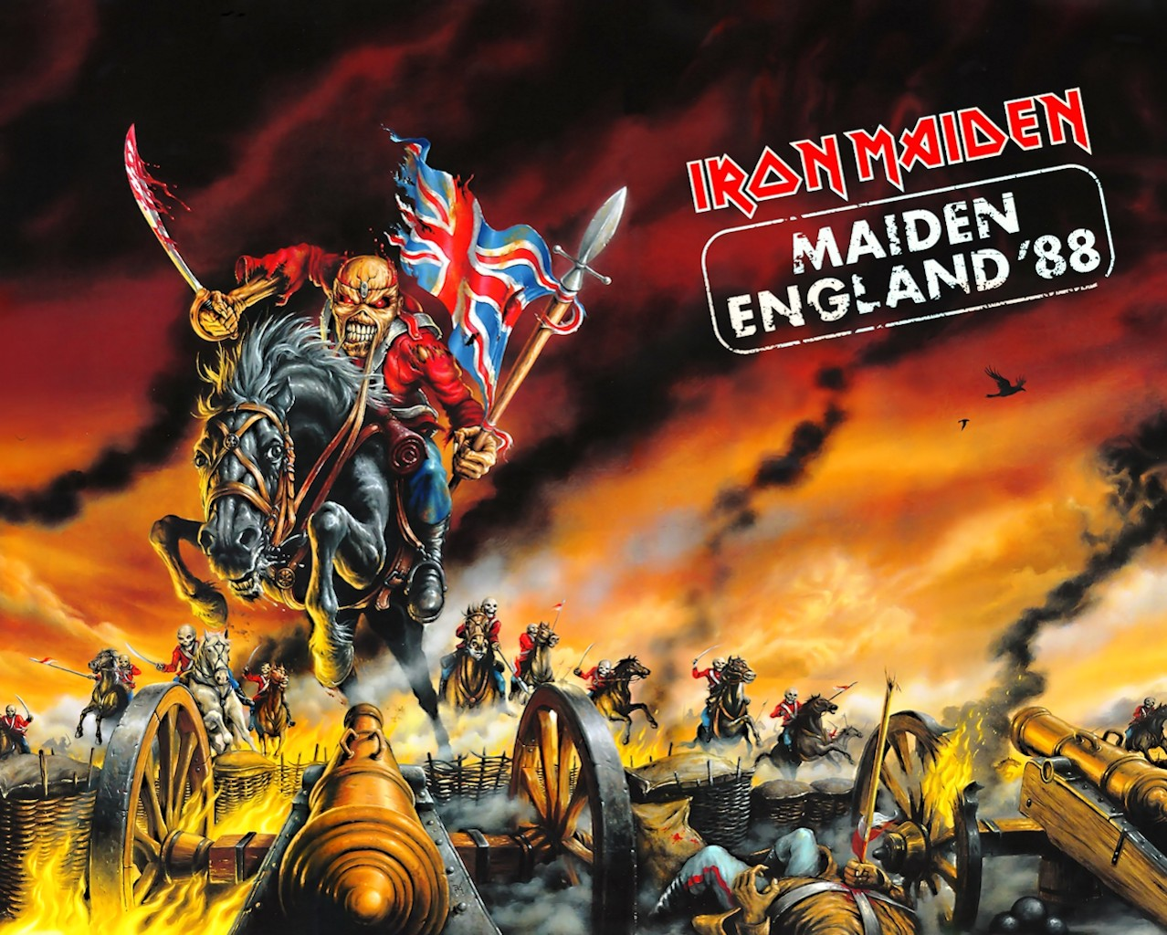 Iron Maiden Bandswallpapers Free Wallpapers Music Wallpaper